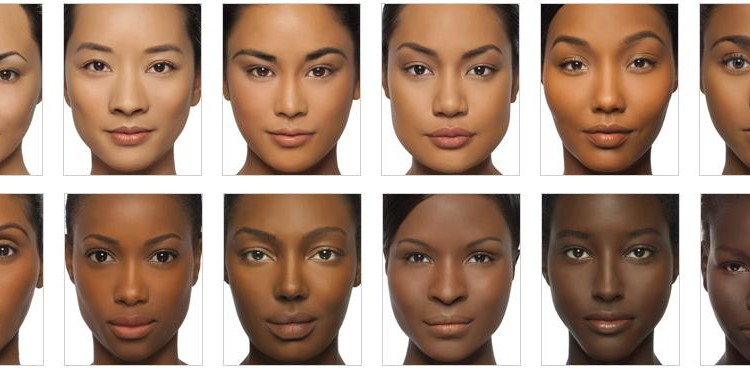 Facial characteristics of puerto rican man